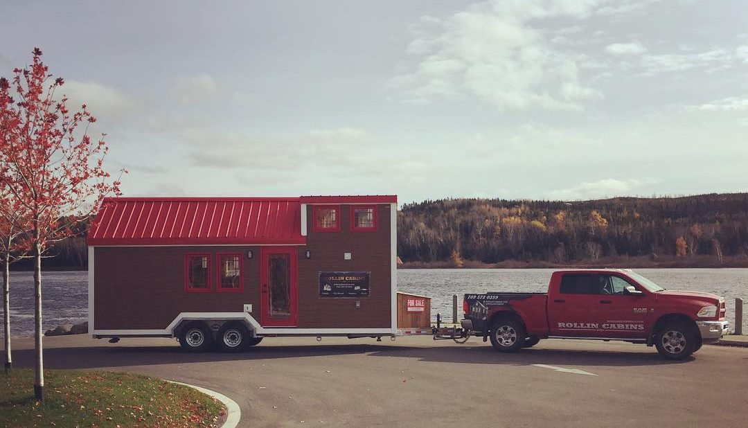 Rollin cabins brings tiny homes to newfoundland tiny for Cabins in newfoundland