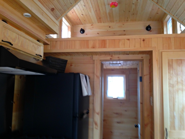 Rollin Cabins Loft Bedroom