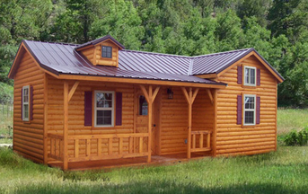 Finally If You Are Looking For An Option Thatus A Little More Rustic This Log  Cabin Weekend Retreat Is The Perfect Option Designed To Maximize Space And  ...