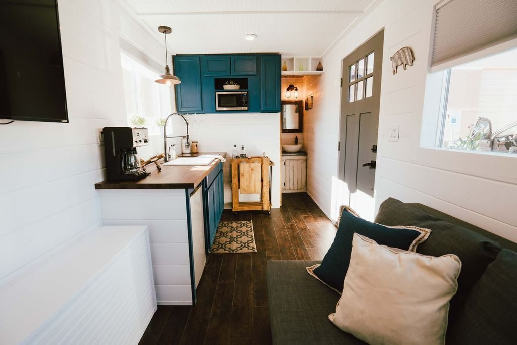 Shipping Container Tiny Home Kitchen Alt