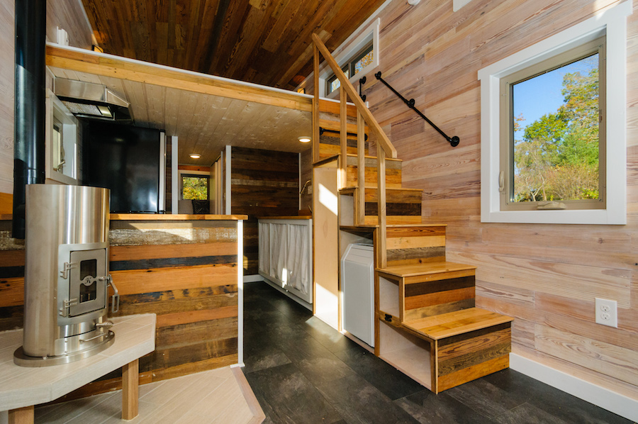 tiny home dreams come true tiny homes ltdSmall Two Level Homes Stairs #13